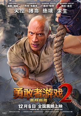 勇敢者游戏2:再战巅峰 Jumanji: The Next Level